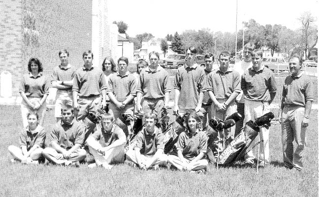 1997 shs golf team
