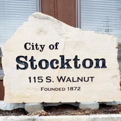 city of stockton sign