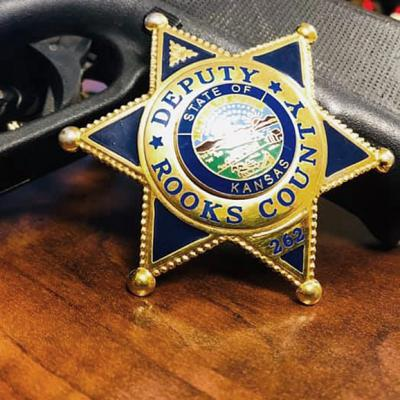 Rooks  County Sheriff's Badge
